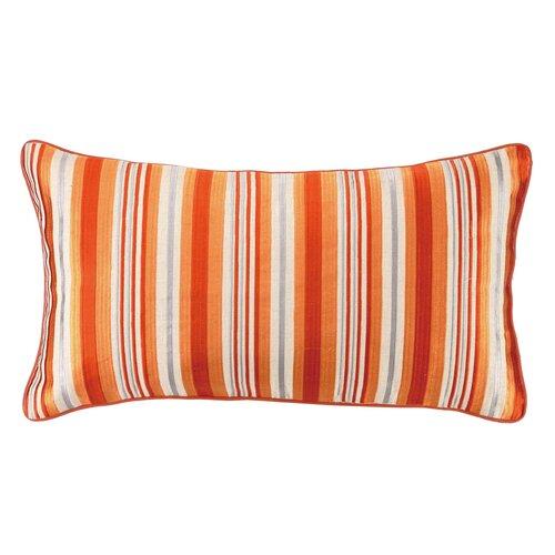 Bahir Oblong Linen Embroidered Pillow