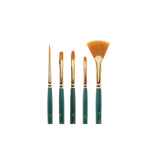 Winsor & Newton Regency Gold Short Bright Decorative Painting Brush
