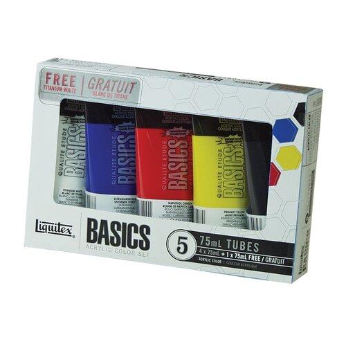 Liquitex Basics Acrylic Paint Tube Set