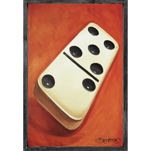 Magnet Art Print Domino Framed Wall Art