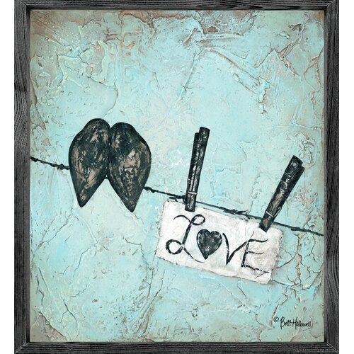 Magnet Art Print Love Framed Wall Art