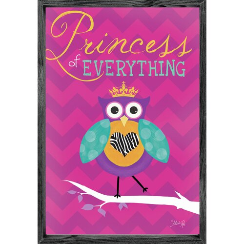 Magnet Art Print Princess of Everything Framed Art