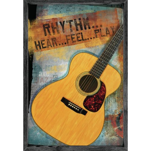 Magnet Art Print Rhythm Framed Wall Art