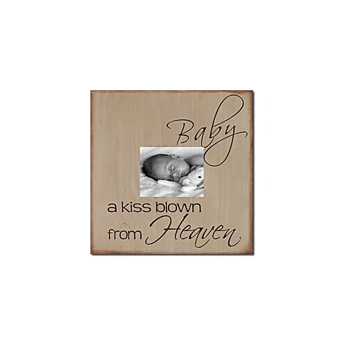Forest Creations Baby a Kiss Blown From Heaven Memory Box