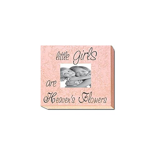 Forest Creations Little Girls Are Heaven's Flowers Picture Frame