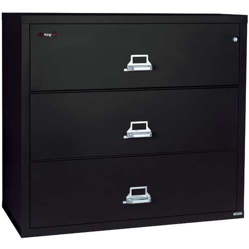 FireKing Fireproof 4-Drawer Lateral File