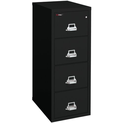FireKing Fireproof 4-Drawer  Letter File
