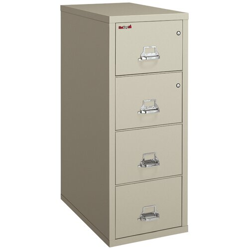 FireKing Fireproof 4-Drawer Legal Protection File