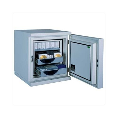 FireKing Fireproof Data Safe with Impact-Rated Key Lock