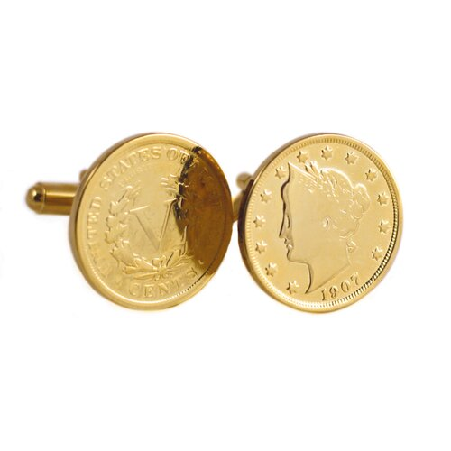 Liberty Nickel Cuff Links