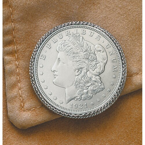 American Coin Treasures Morgan Dollar Pin/Pendant