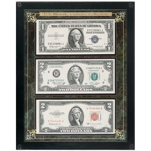 American Coin Treasures Historic U.S. Currency Wall Framed Memorabilia