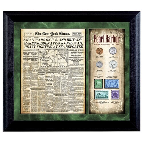 New York Times Pearl Harbor Framed Memorabilia
