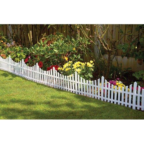 Gablemere Plastic Fence Panel Reviews Wayfair UK