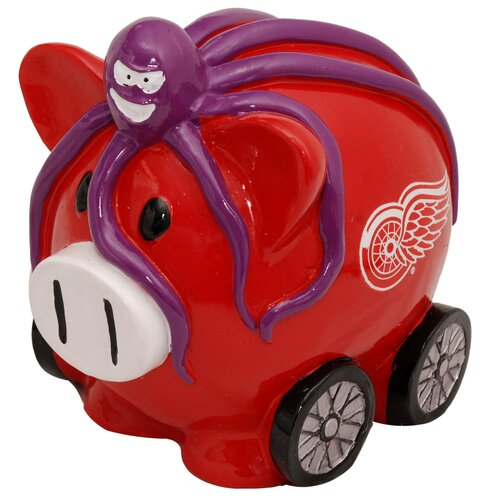 Forever Collectibles NHL Large Piggy Bank Figurine