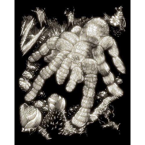 Royal & Langnickel Glow Tarantula Art Engraving