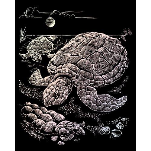 Royal & Langnickel Holographic Sea Turtle Art Engraving