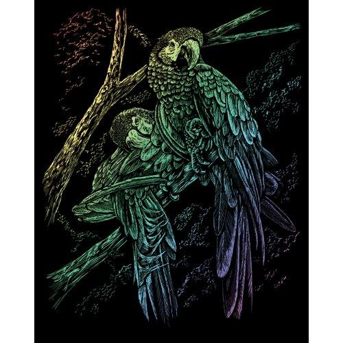 Royal & Langnickel Rainbow Trop Birds Art Engraving