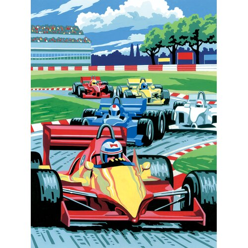 Royal & Langnickel Painting by Numbers Junior Small Grand Prix Set
