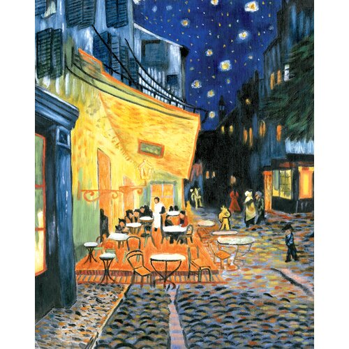 Royal & Langnickel Paint Your Own Masterpiece Terrace At Night Set