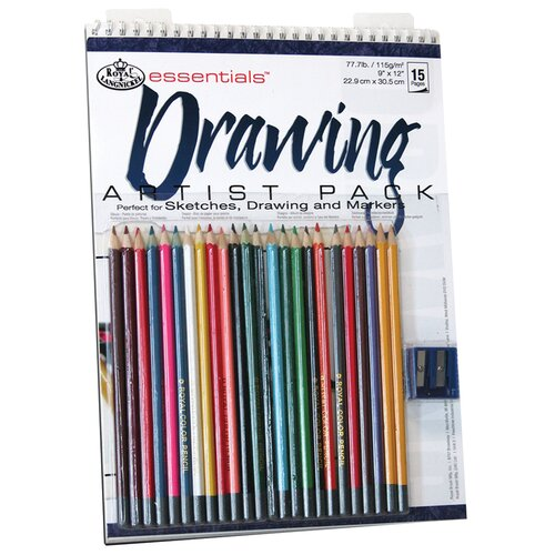 Royal & Langnickel Essentials Artist Pack Paper and Media Drawing