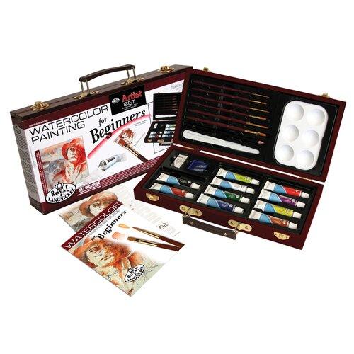 Royal & Langnickel Watercolor Painting Beginner Box Set