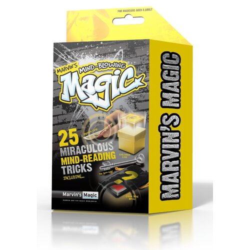 Reeves Marvin's 25 Piece Mind Blowing Miraculous Mind Reading Tricks Box Set