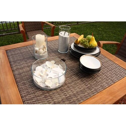 Panama Jack Outdoor Leeward Islands Square Dining Table