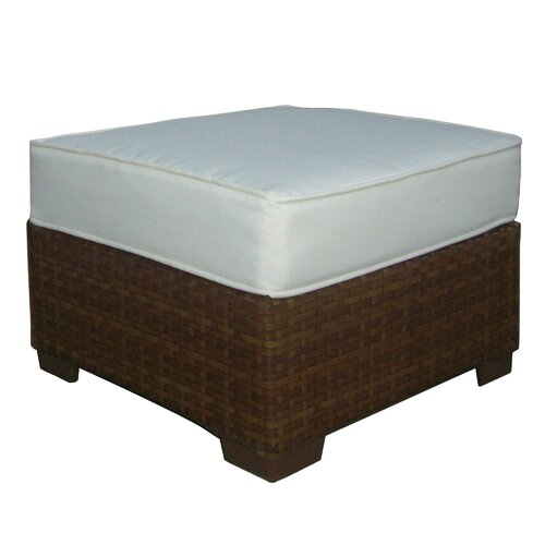 St Barths Ottoman with Cushion