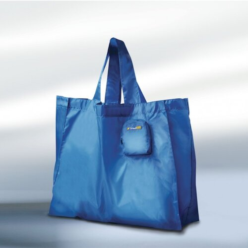 Travel Blue Shopping Tote
