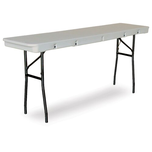 """McCourt Manufacturing Commercialite 72"""" Plastic Folding Table"""