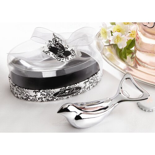 Kate Aspen The ''Love Dove'' Bottle Opener in Elegant Oval Showcase Gift Box