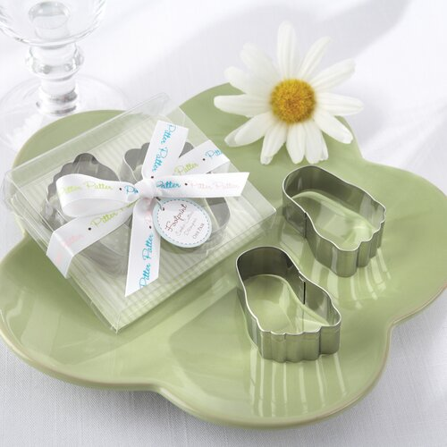 Kate Aspen ''Pitter-Patter of Little Feet'' Baby Footprint Cookie Cutters