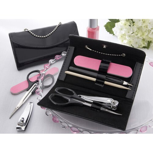 Kate Aspen ''Little Black Purse'' 5 Piece Manicure Set