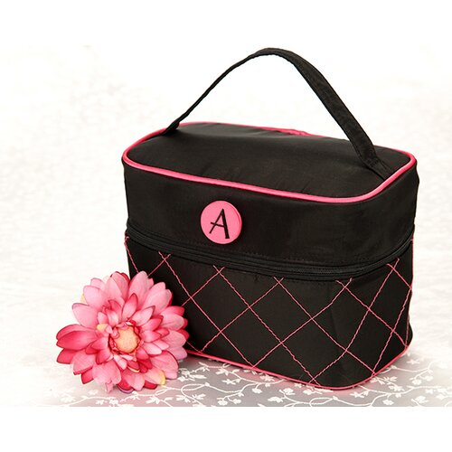 ''The Cosmopolitan'' Monogrammed Cosmetic Travel Bag