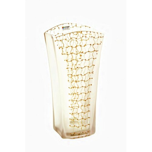 Womar Glass Web of Intrigue Vase