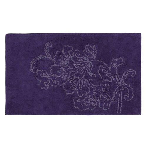 Fine Lines Purple Rug