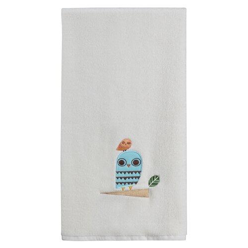 Give a Hoot Print Bath Towel
