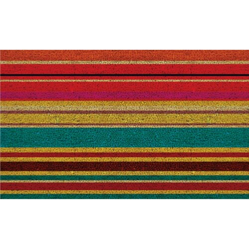 Home & More Striped Doormat