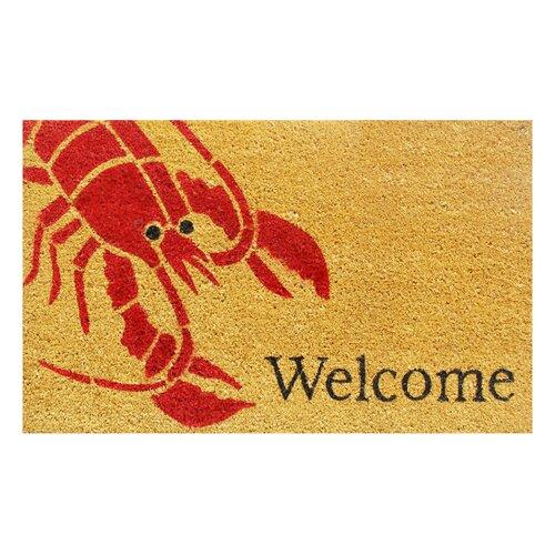 Home & More Lobster Doormat