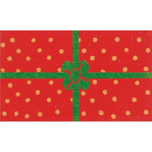 Home & More Christmas Package Doormat