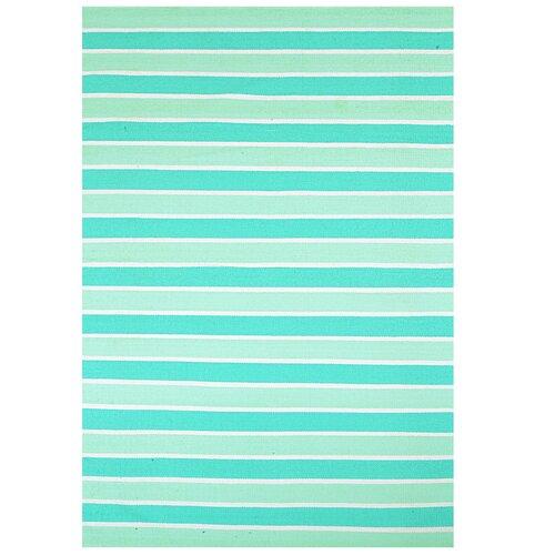 Aqua Stripe Rug