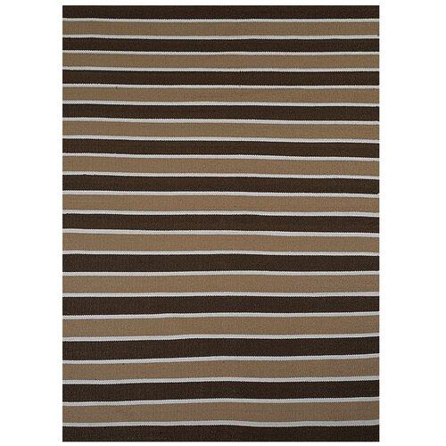 Brown Stripe Rug