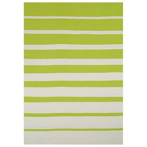 Lime Stripe Rug