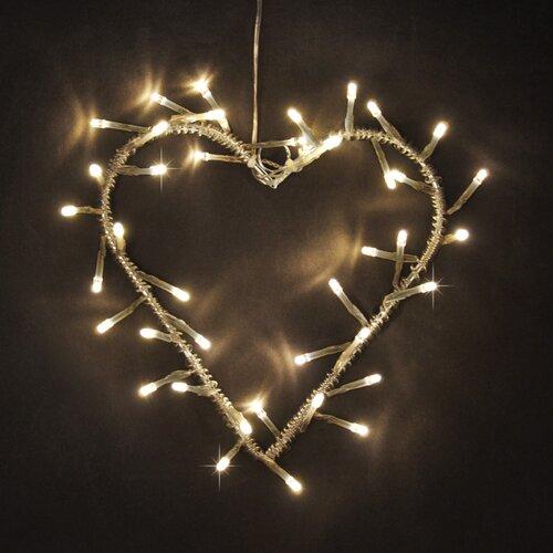 Minisun 40 Light Wreath Fairy Amp Reviews Wayfair Uk