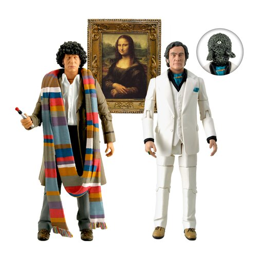 Underground Toys Doctor Who City of Death Action Figures Set