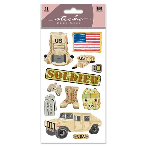 Sticko Classic US Soldier Sticker