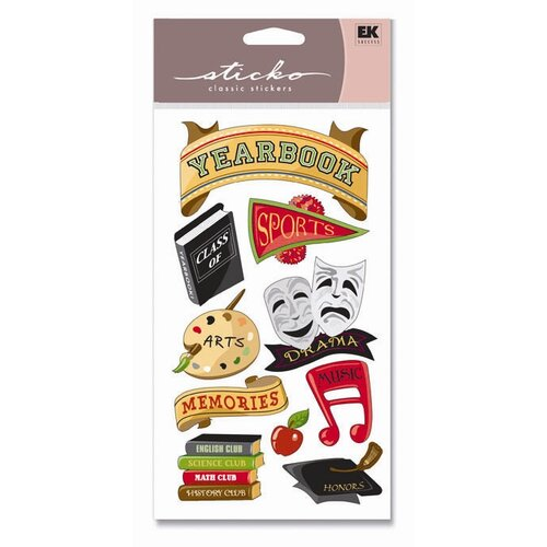 Sticko Classic Yearbook Icons Sticker