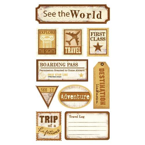 Sticko Classic See the World Sticker