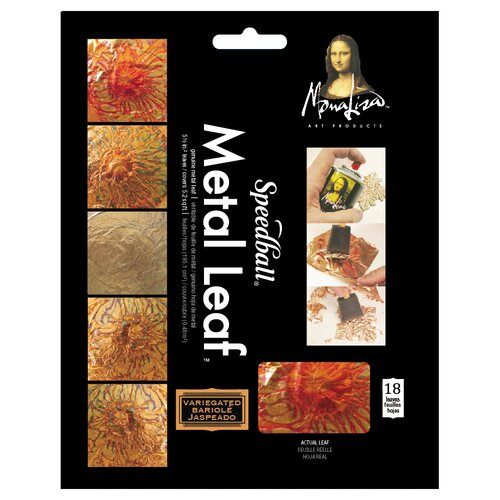 Speedball Mona Lisa Variegated Leaf Sheets